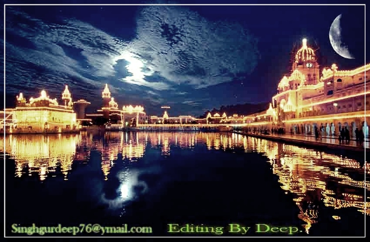 Home Punjabi Sad Shayri Golden Temple pics Editing by DeEp